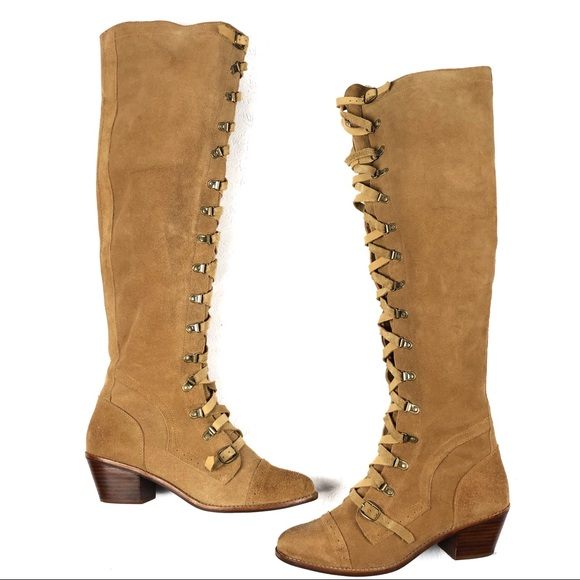 5b14bc1ef9f Free People Shoes - Free People Jeffrey Campbell Johnny boots 10 tan